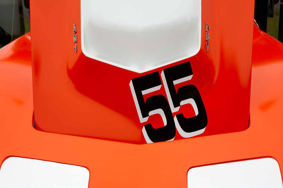 Jory Hull Corvette (#55) 2009My Mind is RacingDigital Chromogenic Print55 x 33 cm © Jory Hull, Courtesy Feroz Galerie