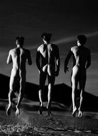 Greg GormanThree Boys Jumping1991© Greg Gorman