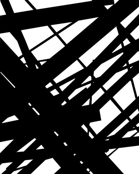 """James Welling#12, 1998From """"New Abstractions"""", 1998-2000Gelatin-silver print, 86.4 x 68.6 cmCourtesy der Künstler und David Zwirner, New York / London© James Welling"""