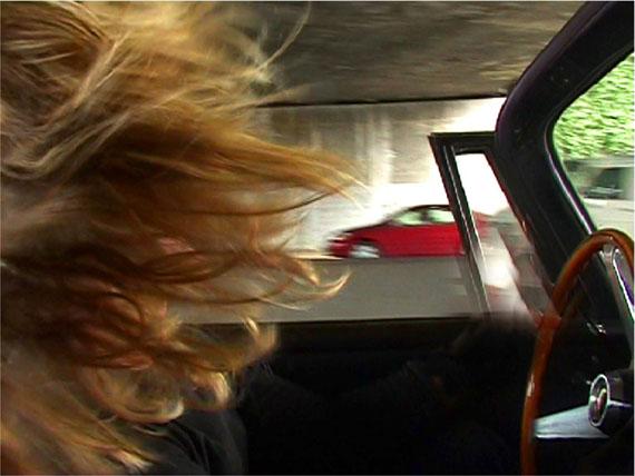CATHERINE GFELLERHis Car Her Hairselfcamera, 2000 – 2007Lambda Print48 x 65 cmEd. 5
