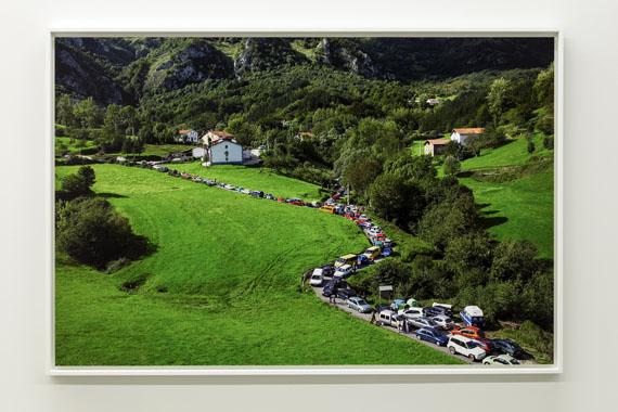 Maider LópezAtaskoa (Traffic Jam), 2005Video (20:31 min.) and photos (4) 130 x 86 cm photos, (1) 50 x 33 cm photo Courtesy the artistPhoto: Servet Dilber© Maider López