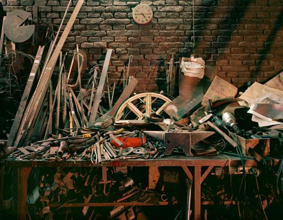 Pelado's Welding Shop, 2013Archival Pigment PrintLarge: 112 x 138 cm, Medium: 92 x 112 cm, Small: 66 x 77 cmLarge and Medium in an edition of 5, Small in an edition of 7