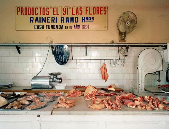 91' Butcher Shop, 2006Archival Pigment PrintLarge: 112 x 138 cm, Medium: 92 x 112 cm, Small: 66 x 77 cmLarge and Medium in an edition of 5, Small in an edition of 15