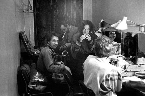 Sergey Kurekhin, Valentina Ponomareva, Vladimir Chekasin. Jazz festival «Autumn rhythms». Leningrad. 1985
