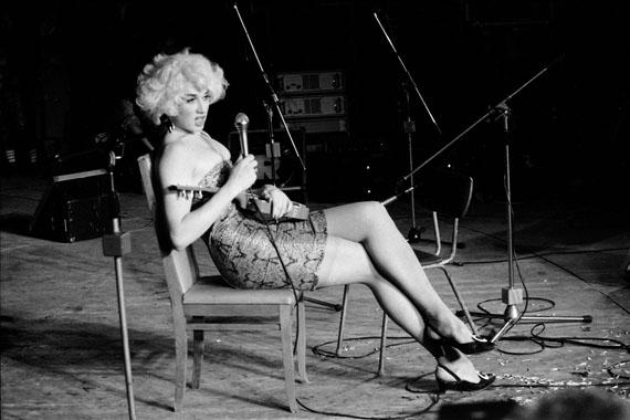 Vladislav Mamyshev-Monroe. Jazz festival «Autumn rhythms». Leningrad. 1989