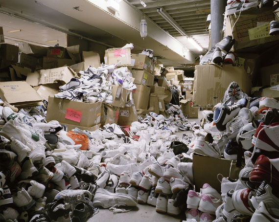 Brian UlrichUntitled Thrift (Shoe Pile), 2006Pigment print48 x 60 in2013.6.2Museum purchaseCollection of the Haggerty Museum of Art© Brian Ulrich
