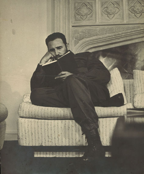 AnonymFidel Castro, ca 1970Gelatine-Silberprint, Vintage, 33,5 x 28 cmaus der Skrein Photo Collection