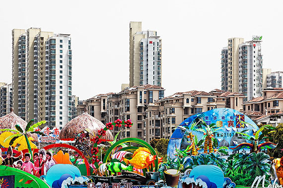 Dreamworld, China 201340x60 inches, 100x150 cmArchival Pigment Print on Hahnemühle Fine Art Baryta © Peter Braunholz