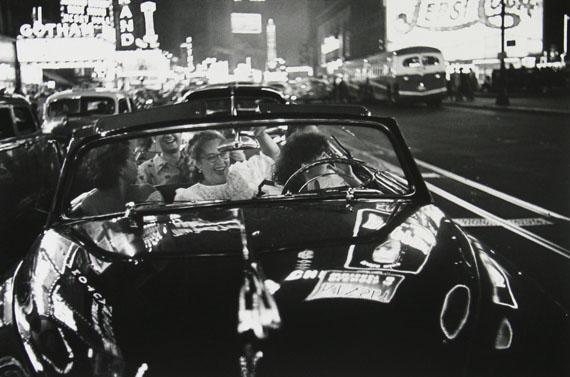 Louis FaurerBroadway, New York, N.Y., 1949-50/1980Silbergelatineabzug von 1980, 27,9 x 35,6 cm© Louis Faurer Estate