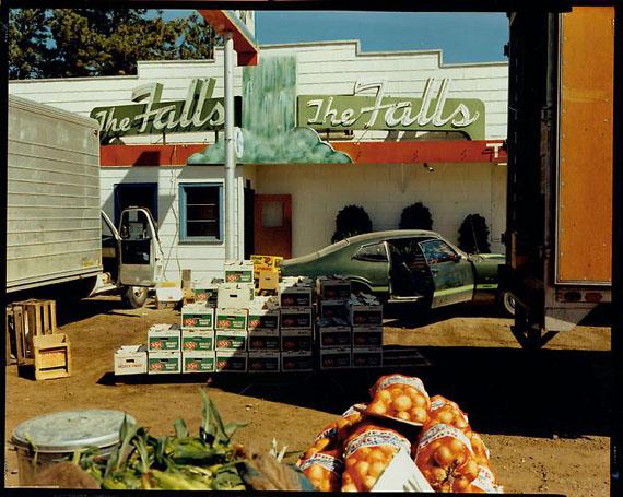 Stephen ShoreU.S. 10, Post Falls, Idaho, August 25, 1974© Stephen Shore/Courtesy Edwynn Houk Gallery, New York