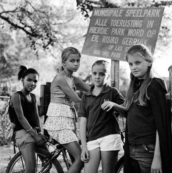 Cheryldean, Hestia, Marisan & Clara, Prins AlbertSouth Africa, 2013© Katharine Cooper, 2013