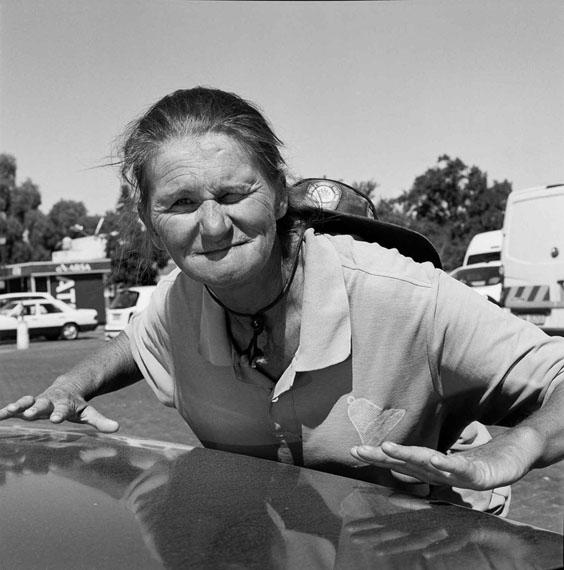 Corrie Saayman, parking guard, South Africa, 2013 © Katharine Cooper, 2013