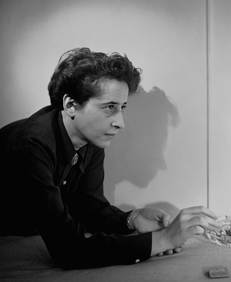 Hannah Arendt (1906-1975), New York 1944© Estate of Fred Stein