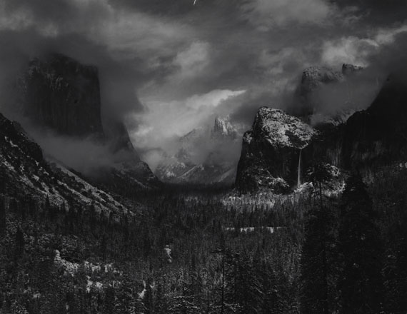 Ansel AdamsYosemite National Park, California, USAum 1937National Geographic Image Collection