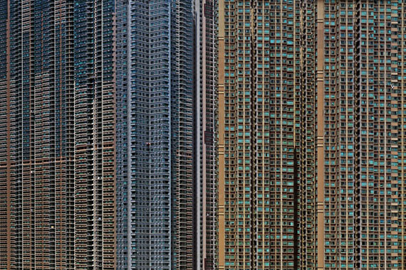 "Michael Wolf: ""Architecture of Density #57"" (2005) C-Print. 102 x 153cm - Edition of 9"