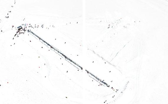 Walter Niedermayr: Jungfraujoch 28, 2012