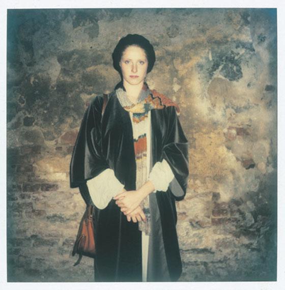 Andrey A. TarkovskyDomiziana Giordani, Actress, Bagno Vignoni, 2 November 1982© The Tarkovsky Foundation