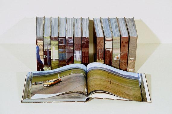 Katharina Gaenssler'TRANSSIBIRIEN I—XIII' (ATLAS), 20048764 Fotografien, 8764 Seiten, Farblaserdrucke, Umschläge foliertbr>Privatbesitz