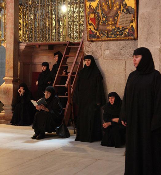 Noah Cohen: Grabeskirche, Jerusalem 2012
