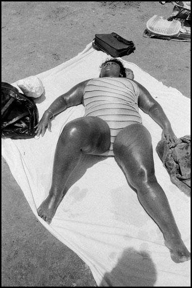 Bruce Gilden, Coney island, New York, 1976