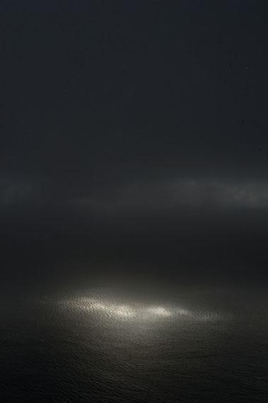 Ralf Schmerberg: NATURAL ENLIGHTMENT, Big Sur, California, USA, 2010, Ditone Print, 225 x 150 cm