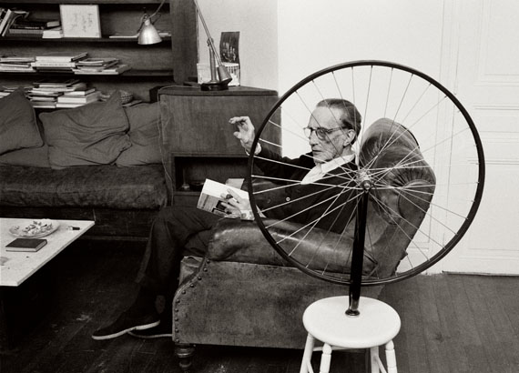 Vera Mercer: 'Marcel Duchamp', Paris 1962 © Vera Mercer