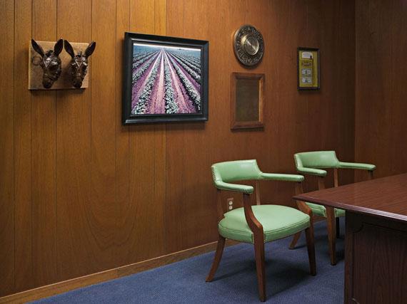 Loan Office, Happy State Bank, Silverton, Texas 2012 © Lucas Foglia