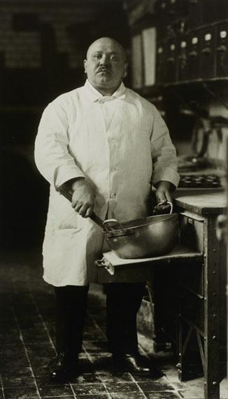 August Sander: Konditor / Pastry Cook, 1928© Photographische Sammlung/SK Stiftung Kultur, Köln; Courtesy of FEROZ Galerie, Bonn