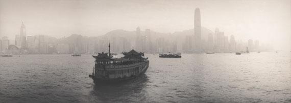 Silke LauffsHong Kong Island seen from Kowloon, China, January 2007Silver Gelatin Print © Silke Lauffs