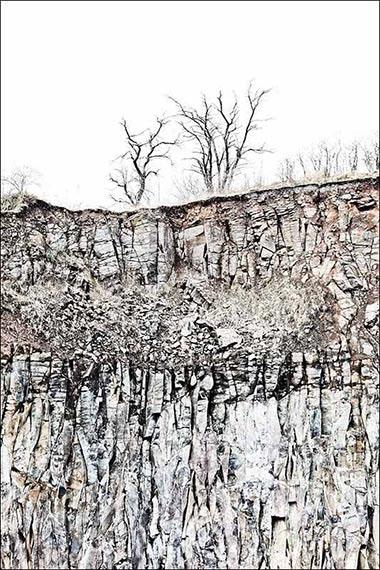 Basalt 7553, 150x100 cm, Archival Pigment Print auf Hahnemühle Fine Art Baryta© Peter Braunholz
