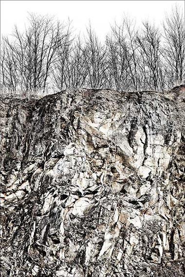 Basalt 7736, 150x100 cm, Archival Pigment Print auf Hahnemühle Fine Art Baryta© Peter Braunholz