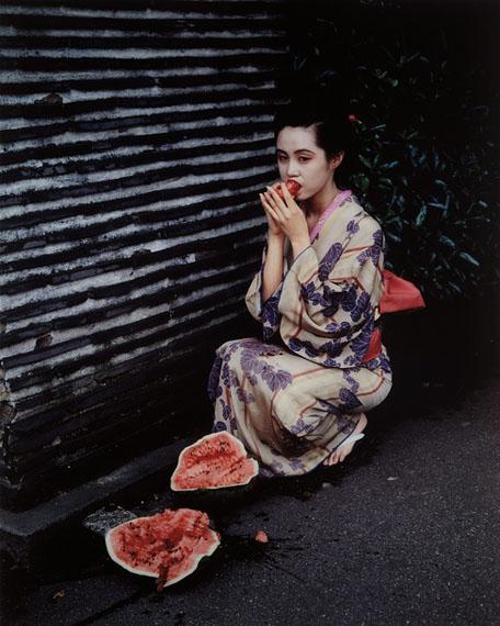 Nobuyoshi ArakiUntitled from Colourscapes (Angel of Paradise), 1991© Nobuyoshi Arkai, courtesy Hamiltons Gallery, London