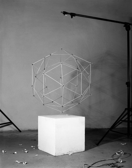 Peter Puklus: A dual polyhedron with cube, 2011, Budapest