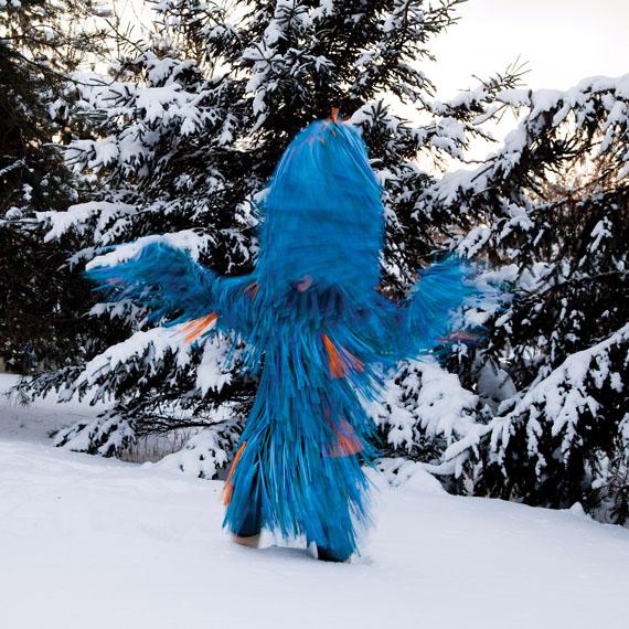 Meryl McMaster, Wind Play 2012, courtesy of Katzman Contemporary