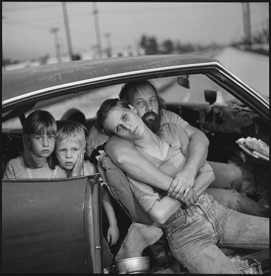 © Mary Ellen Mark, The Damm Family in Their Car, Los Angeles, California, USA, 1987