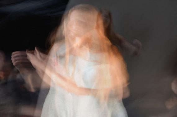"Corinna Rosteck: ""Eurydice double"", Chromira pearl auf Aludibond, 40x60 cm, 2013"