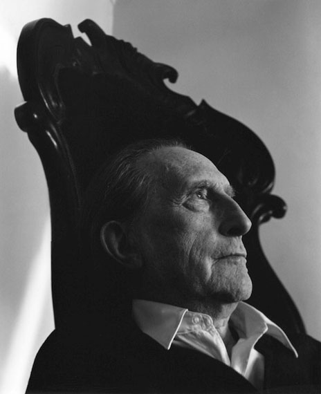 Arnold Newman: Marcel Duchamp, 1966