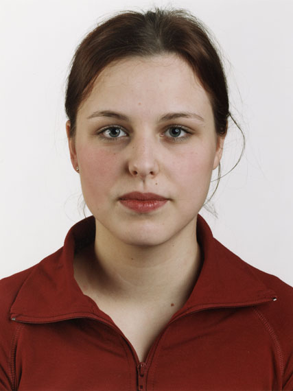 Thomas Ruff Portrait (K. Eckert), 2001Chromogenic color print82 5/8 x 65 inMuseum purchase from the Heller Art Acquisition FundCollection of the Haggerty Museum of Art