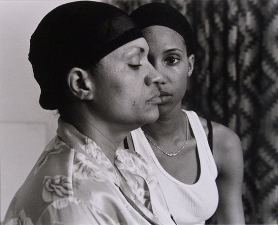 LaToya Ruby Frazier Momme, 2008Gelatin silver print16 x 20 inMuseum purchase with funds from Mrs. Martha W. Smith by exchangeCollection of the Haggerty Museum of Art