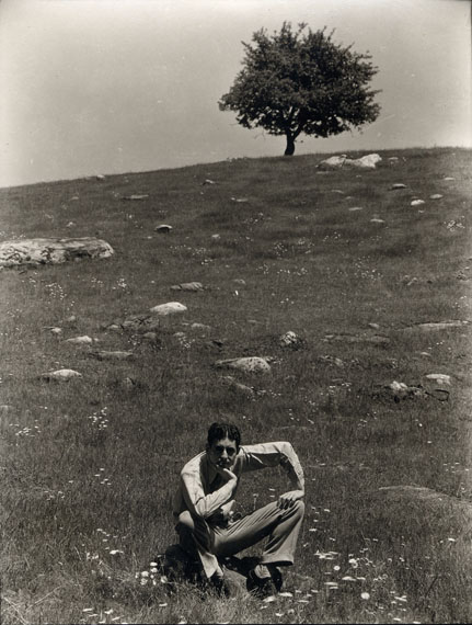 Ralph Steiner Self-Portrait Being Foolish, 1929 / 1981Gelatin silver print4 3/4 x 3 5/8 in Gift of Therese and Murray WeissCollection of the Haggerty Museum of Art