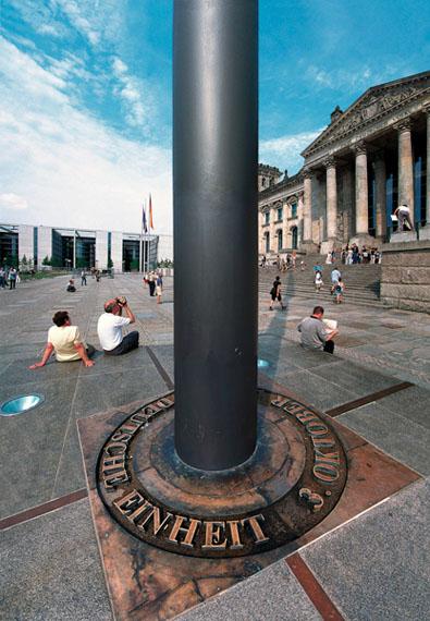 Frauke Bergemann: Reichstag – Einheit, 2000, 103 cm x 147 cm