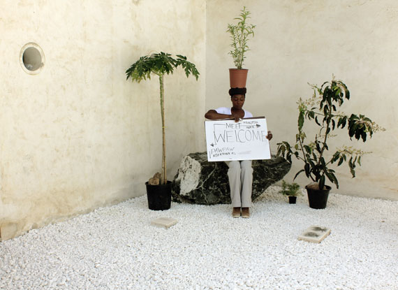 Otobong Nkanga - 14 ROOMSTASTE OF A STONE: ITIAT ESA UFOK, 2013Commissioned by Sharjah Art Foundation - SB11 - 2013