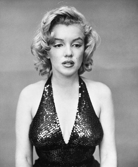 Richard Avedon: Marilyn Monroe, Schauspielerin, New York City, 6. Mai 1957, 1957Silbergelatine-Abzug, 50,8 x 40,6 cmSammlung Udo und Anette Brandhorst© The Richard Avedon Foundation