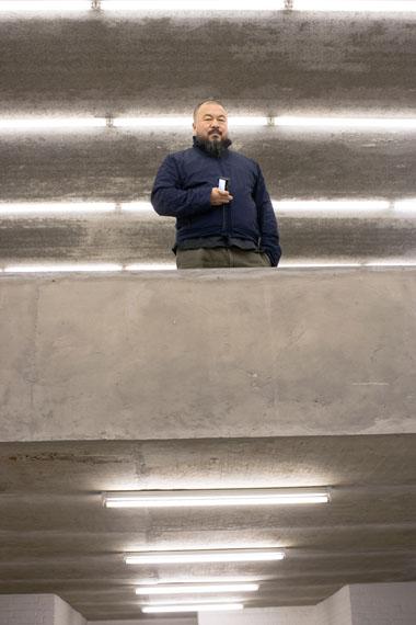 Maurice WeissAi Weiwei, 2006Print auf Silber Rag60 x 40 cmEd. 1/5