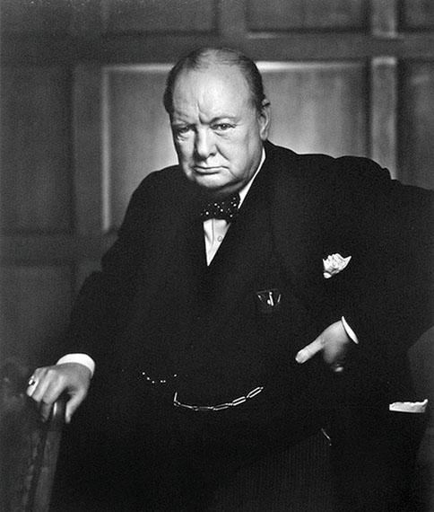 Yousuf Karsh: Winston Churchill, 1941 ® Yousuf Karsh