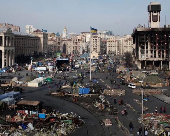 Davide Monteleone: Maidan #021, 2014. © Davide Monteleone