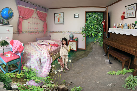 Won Seoung WonOversleeping (from the series My Age of Seven)2010Type C-print 86 x 120 cm