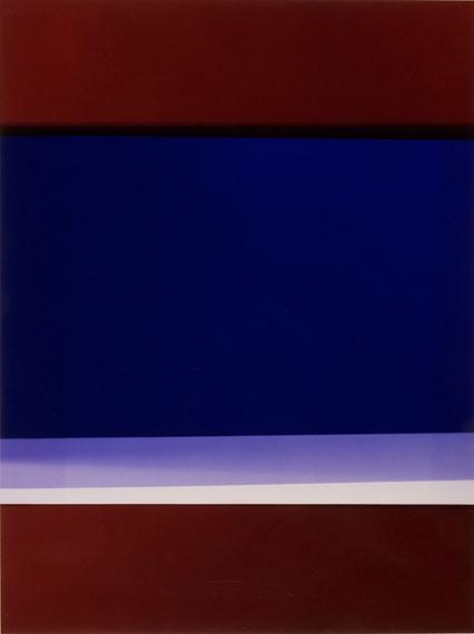 HANNO OTTEN: Colorblock Nr. 256, 2007unique photogram, 40.6 x 30.4 cm