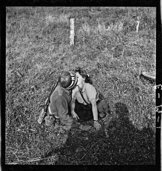John G. Morris: Vicinity of Dol-de-Bretagne, Brittany, August 7 © John G. Morris (Contact Press Images)