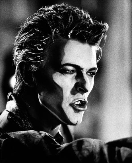 David Bowie Close up  © Greg Gorman